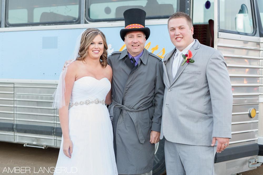 Rural North Dakota Country Church Wedding | The Bus Driver