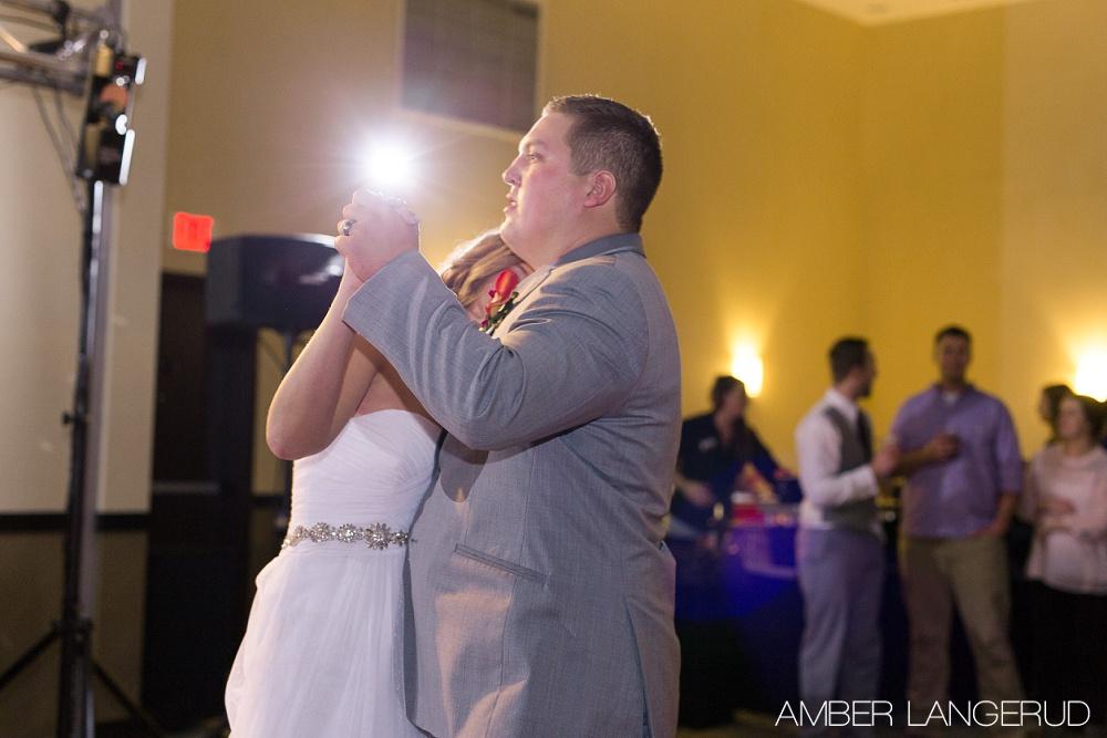Fargo, ND Hilton Garden Inn Reception | First Dance
