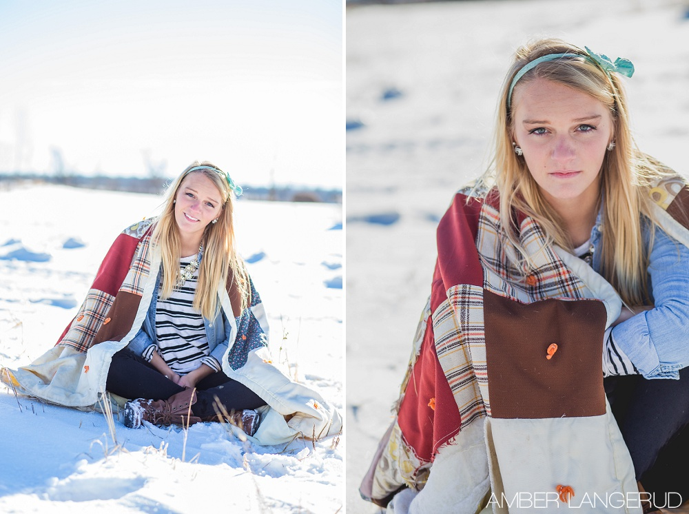 Winter Photo Inspiration by Amber Langerud Photography
