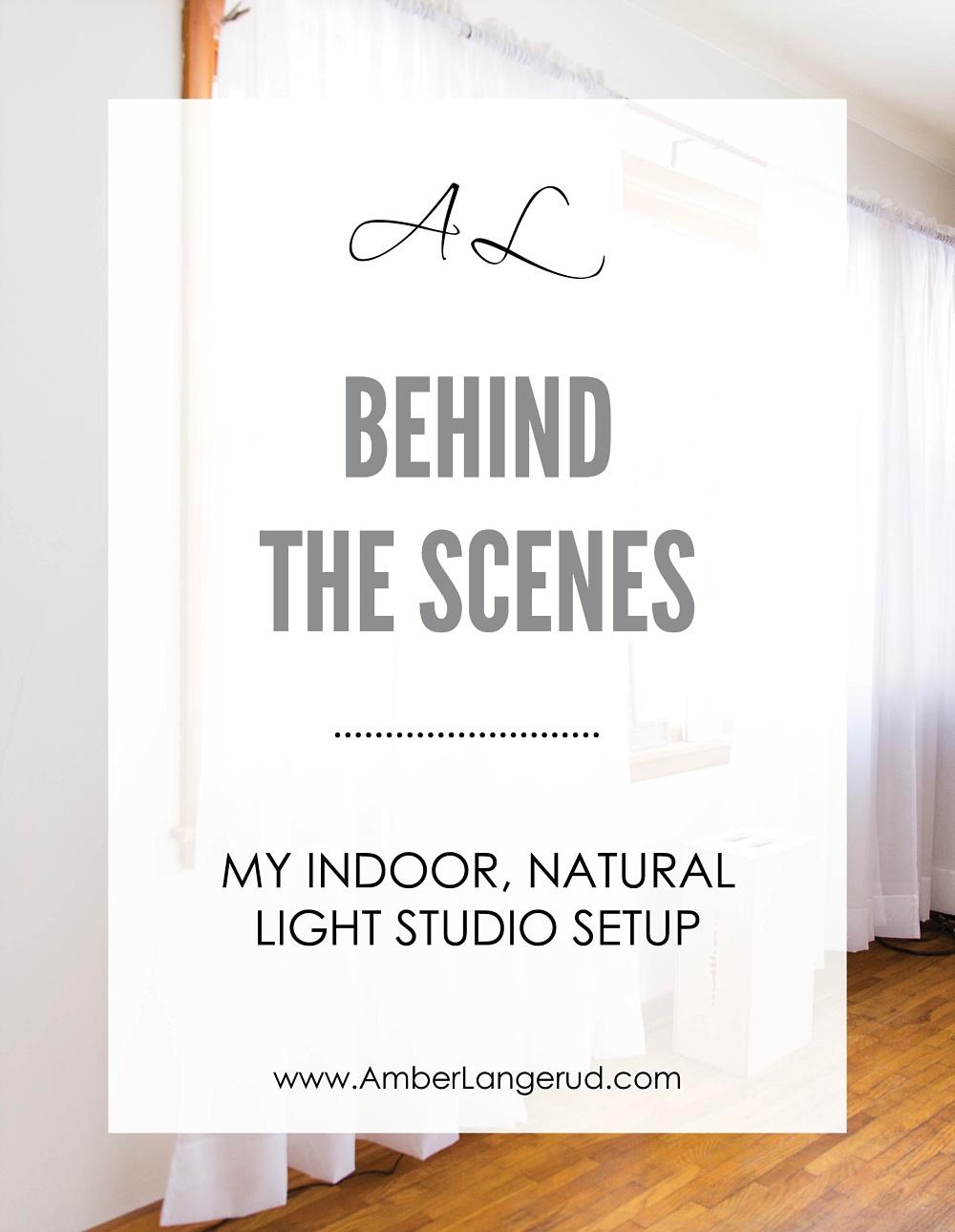 Indoor Natural Light Living Room Setup | Audubon, MN Portrait Photographer