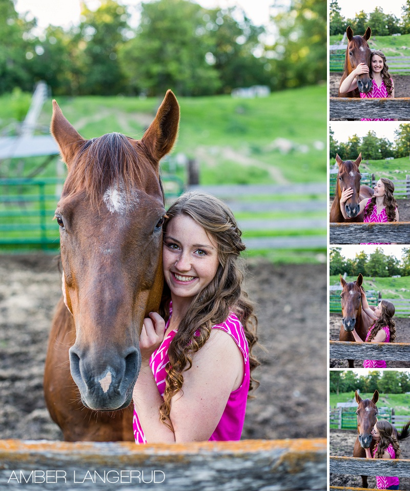 Country & Equine Styled shoot with Molly | Frazee, MN Senior Session