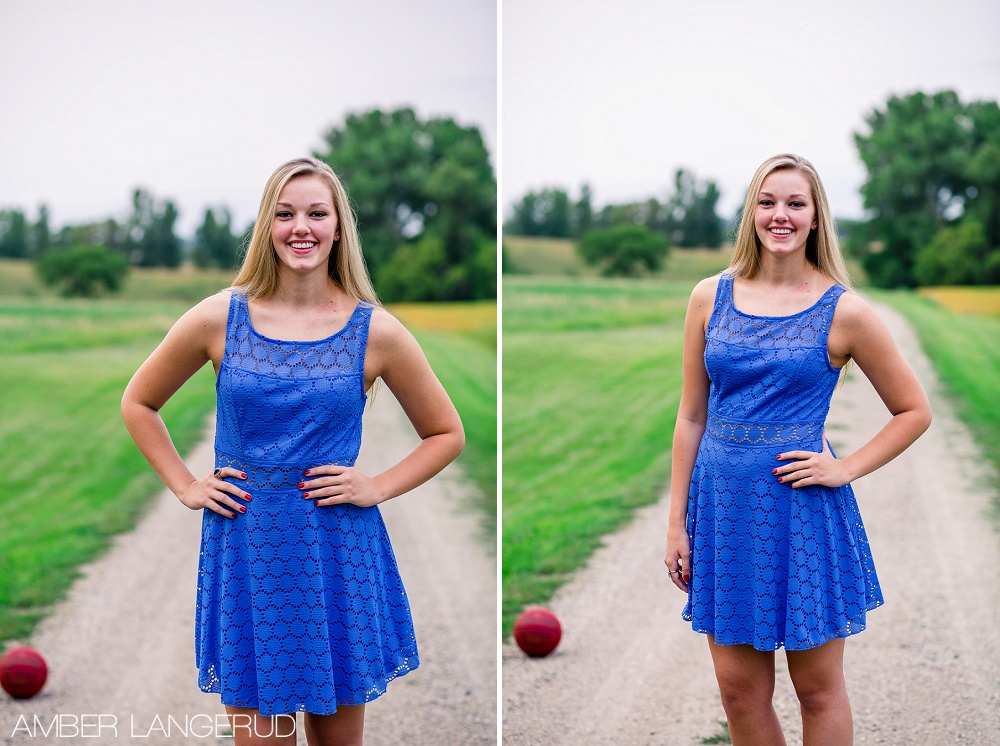Basketball Senior Styled Pictures | Detroit Lakes, MN High School Senior Pictures