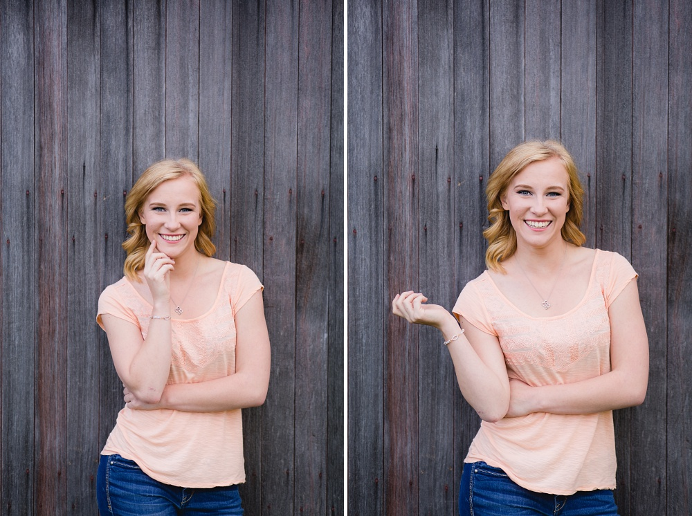 Outdoor, Country Styled, Spring Senior Session, OLD BARNWOOD | Amber Langerud Photography