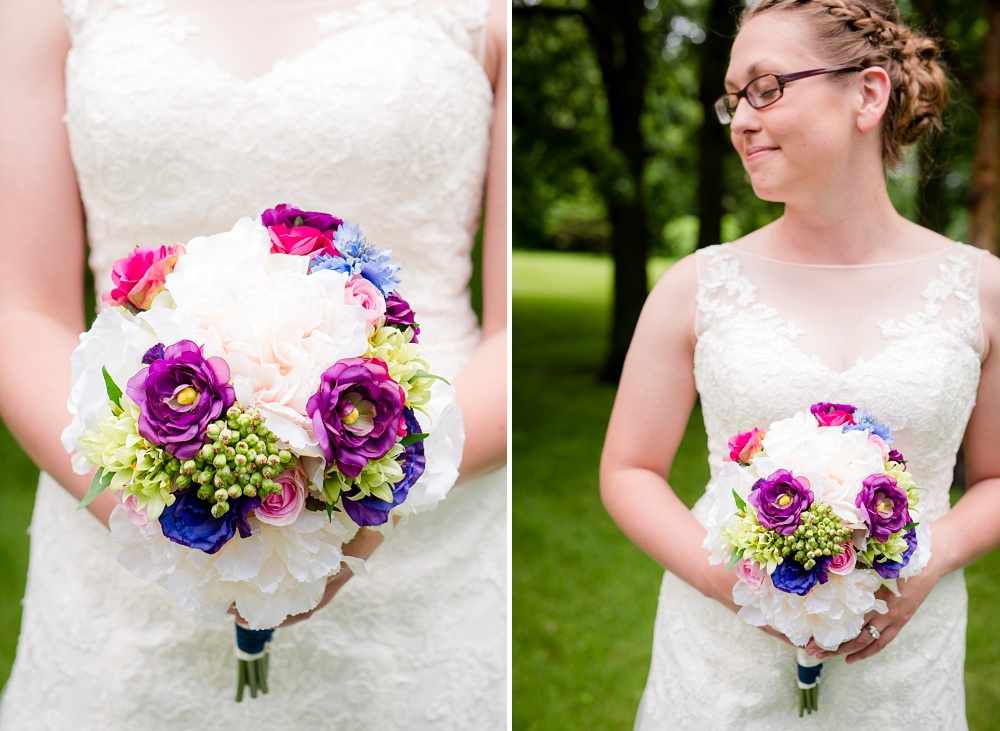 Moorhead, MN wedding | Photos at River Oaks Park | Ceremony at First Presbyterian Church | Amber Langerud Photography