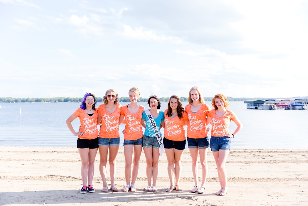 Miss Becker County 2016 pre pageant photos | Miss Contestant at the Beach
