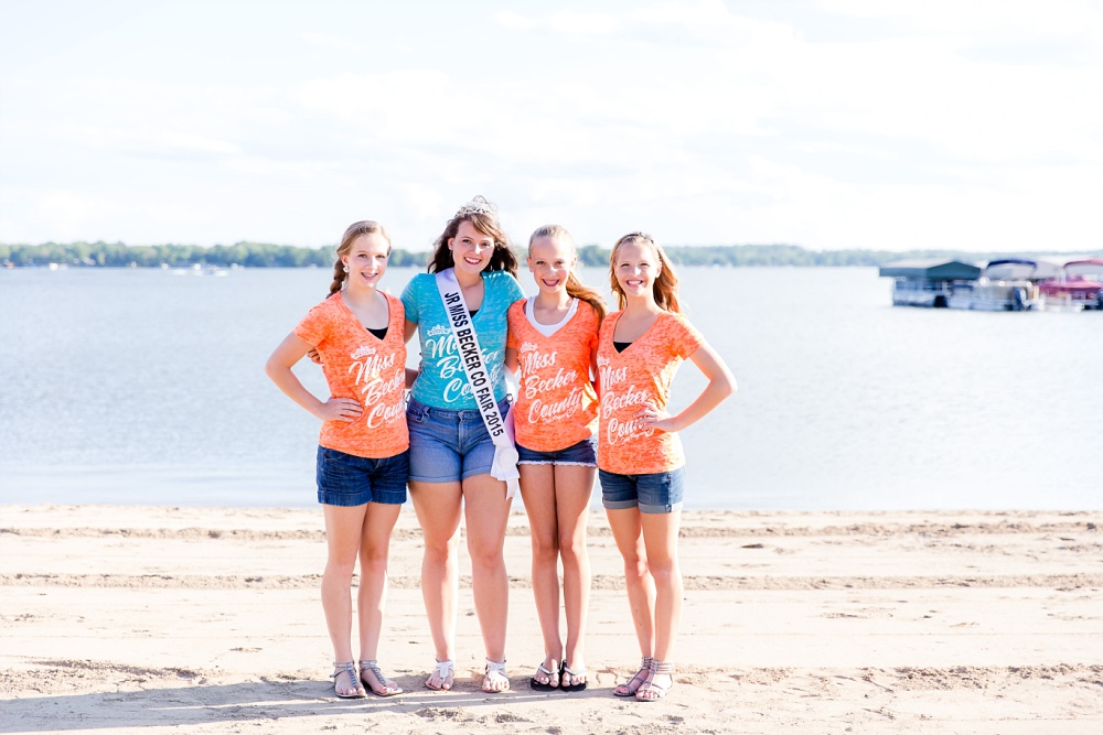 Miss Becker County 2016 pre pageant photos | Jr Miss Contestants