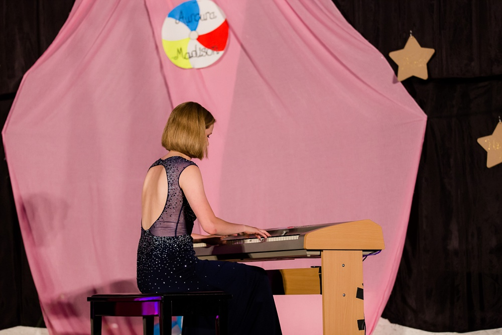 Miss Becker County Fair 2016 | Piano Talent Performance
