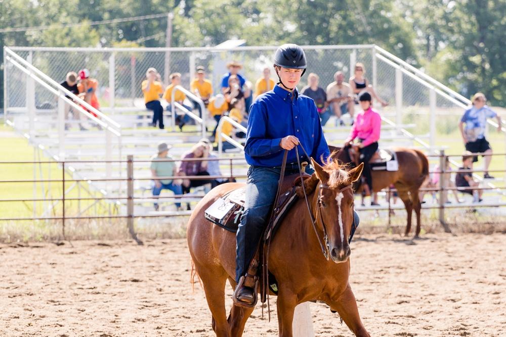 2016 Becker County 4-H Horse Show in Detroit Lakes, MN   Western Horsemanship
