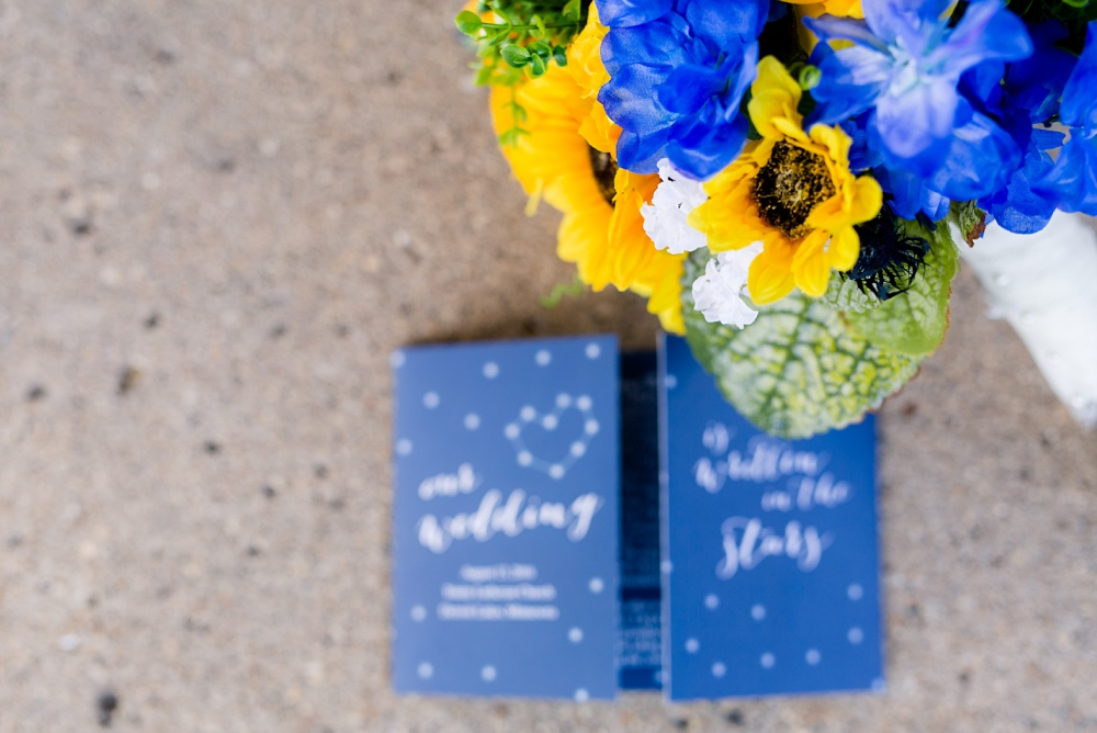 Detroit Lakes, MN Country Styled Wedding at Trinity Lutheran Church & Holmes Ballroom Photographed by Amber Langerud Photography | Wedding Program