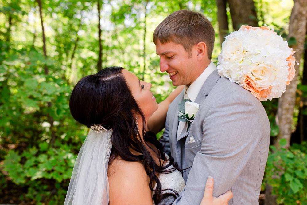 Rustic, Elegant, Lakeside & Frazee, MN Event Center Wedding | Steph & Tim