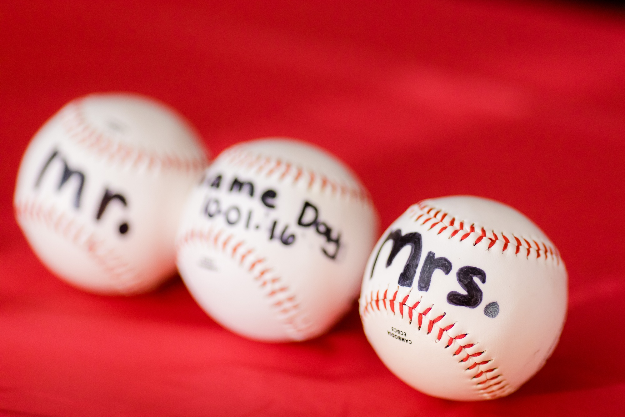 Baseball Themed Fall Wedding at Lake Eunice Evangelical Church and the Frazee, MN Event Center | Kay & Brandon
