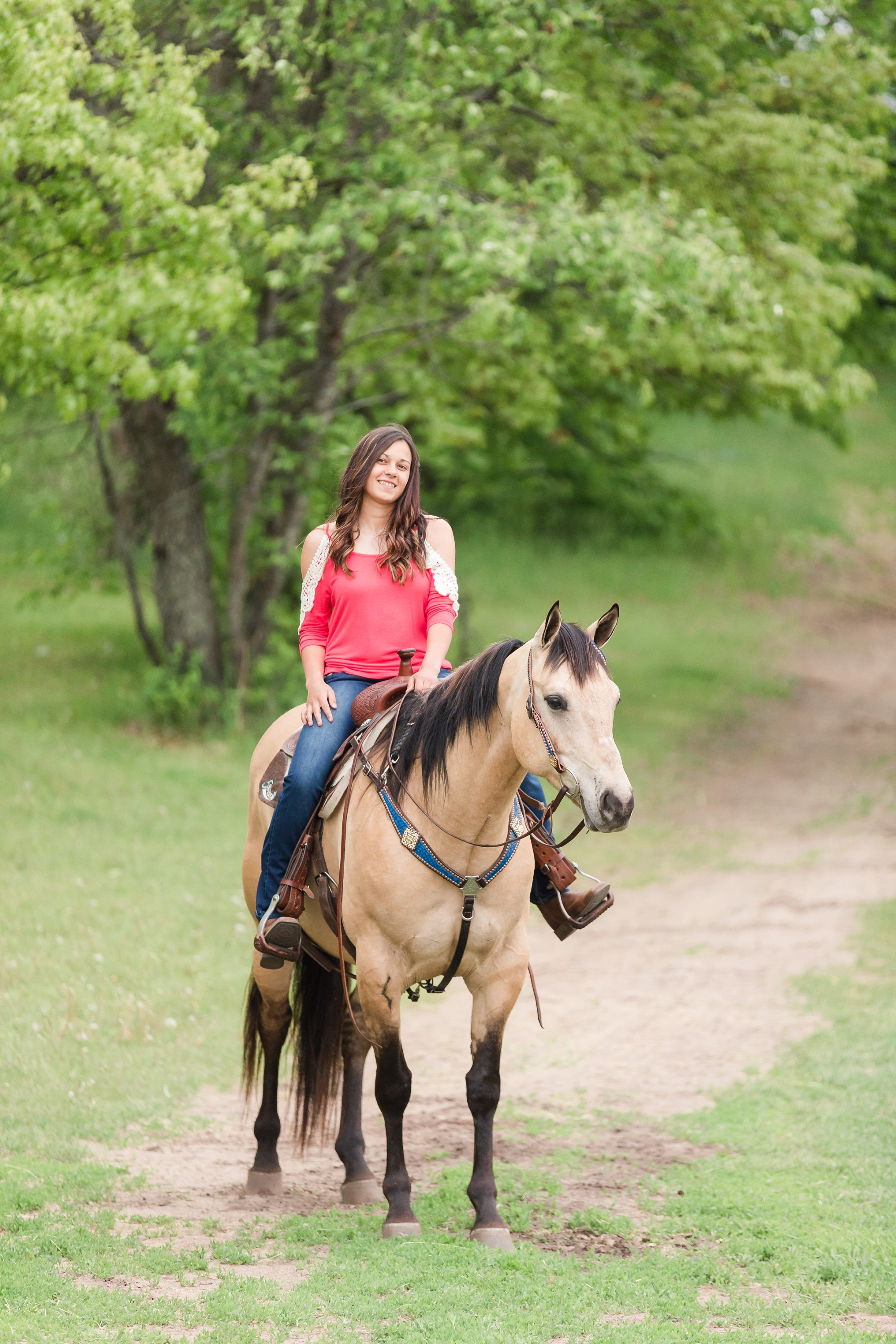 Country Styled, A Girl and Her Horse Session at Sandy Oaks Arena in Frazee, MN by Amber Langerud Photography | Kayla