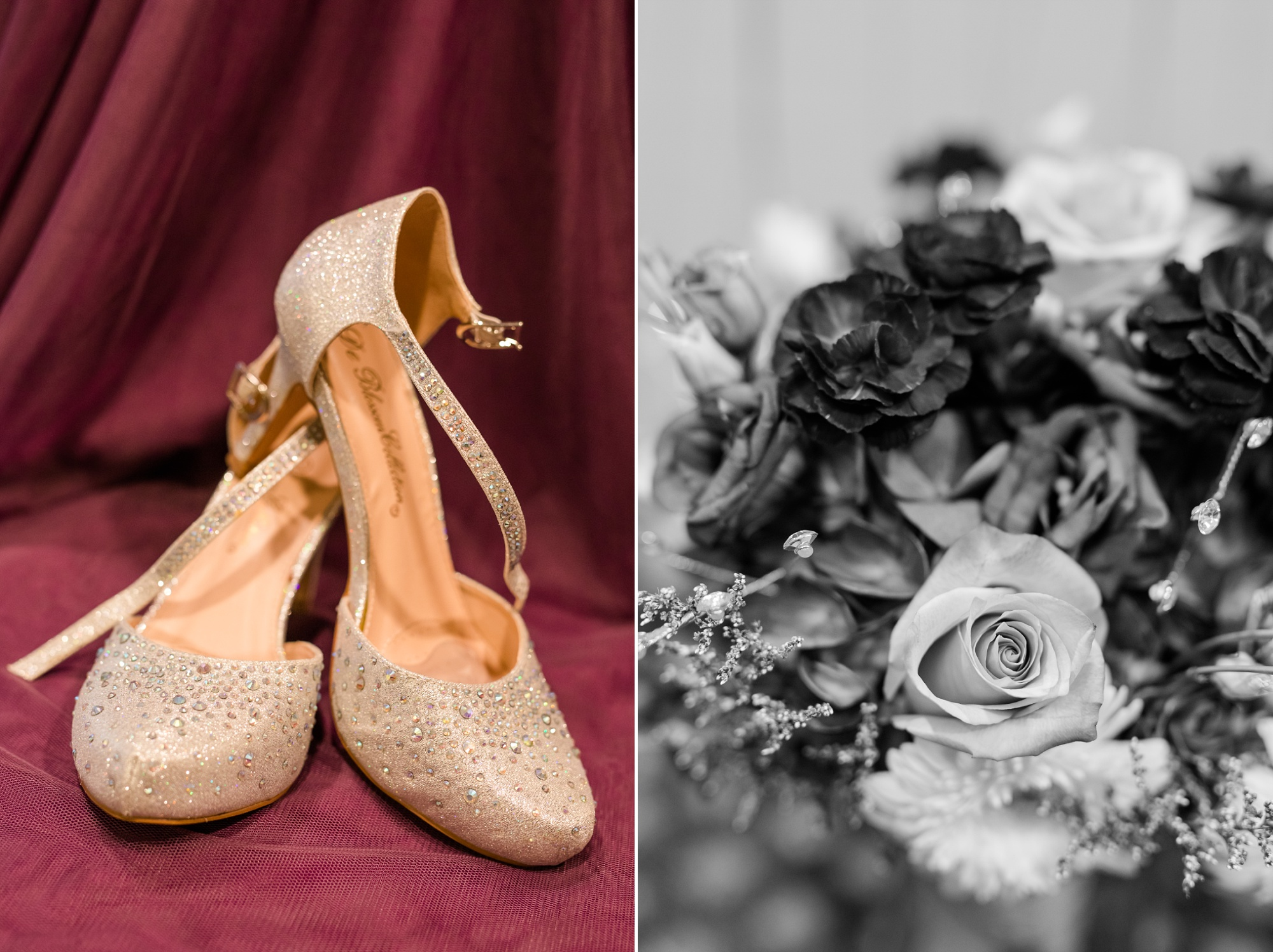 Downtown Fargo Disney Themed Wedding by Amber Langerud Photography | Shoes