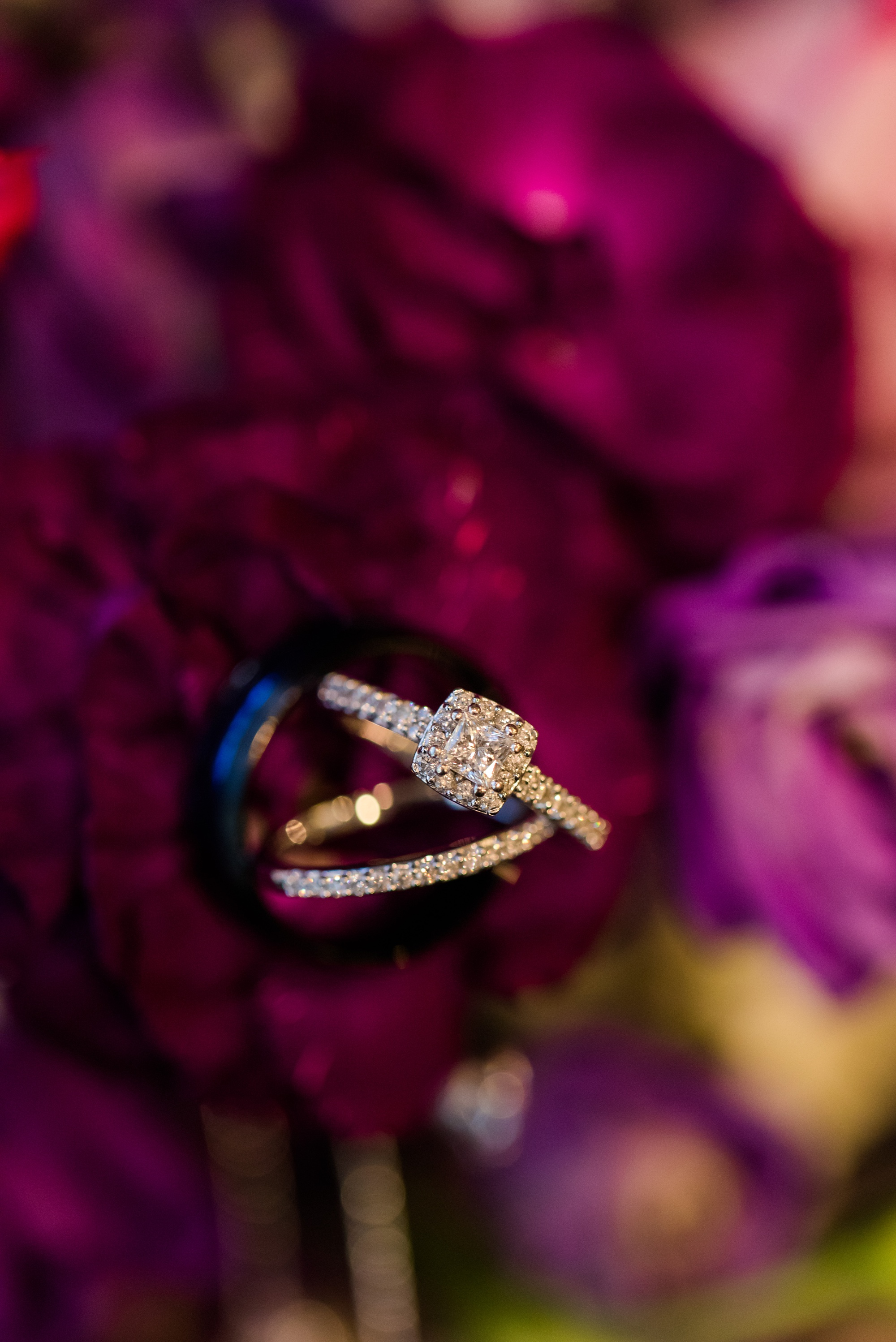 Downtown Fargo Disney Themed Wedding by Amber Langerud Photography | wedding rings