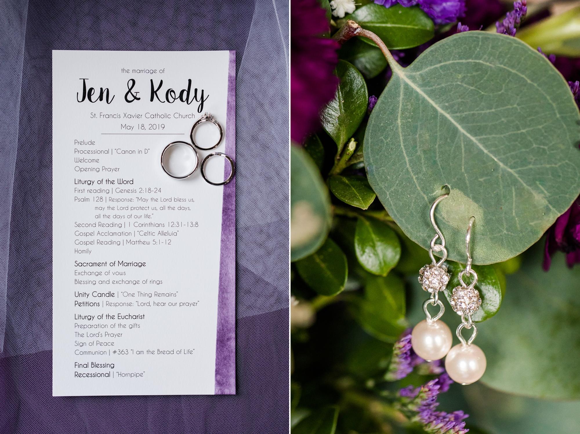 Amber Langerud Photography_Catholic Spring Wedding with Purple Accents_6290.jpg