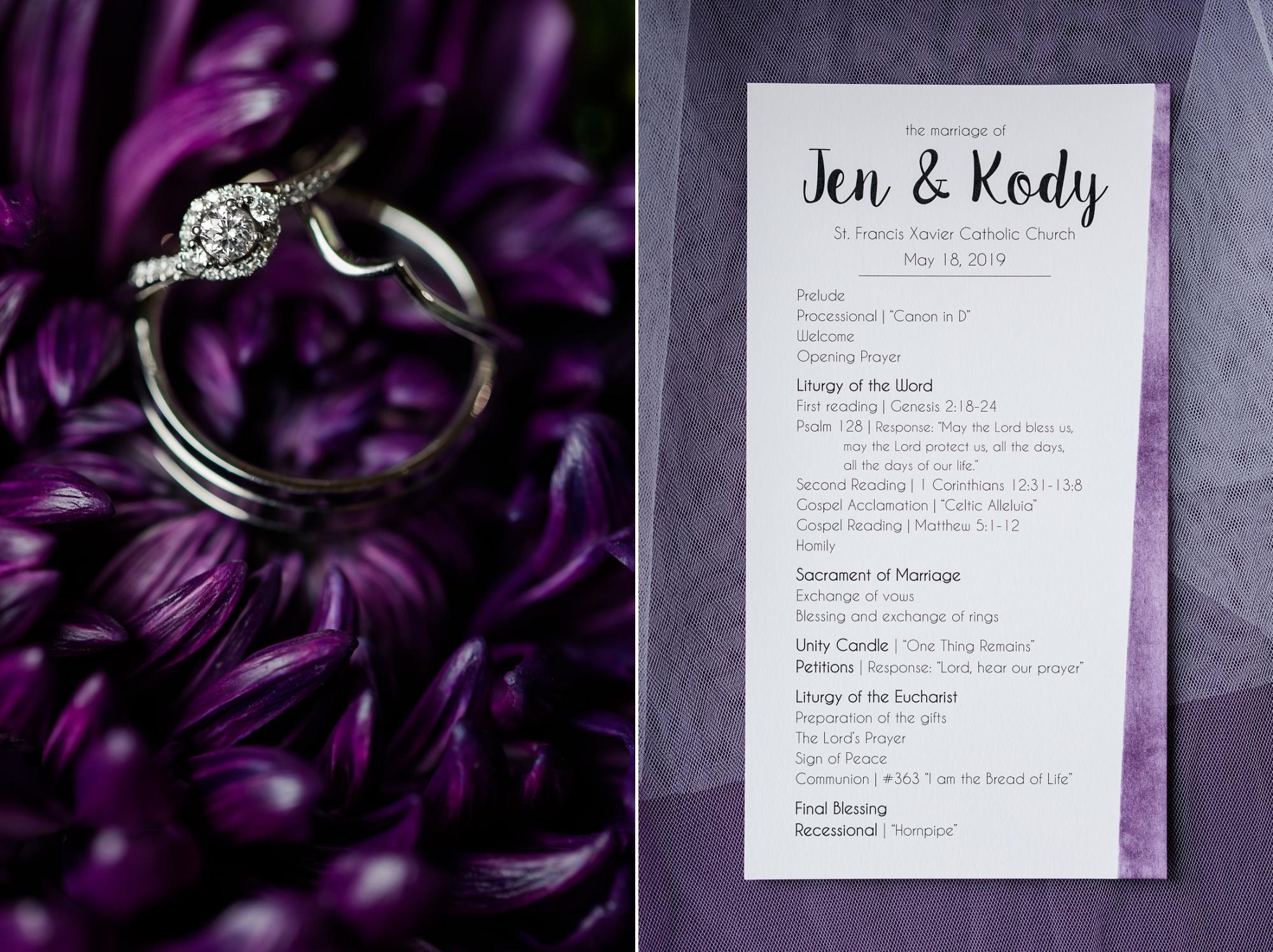 Amber Langerud Photography_Catholic Spring Wedding with Purple Accents_6293.jpg