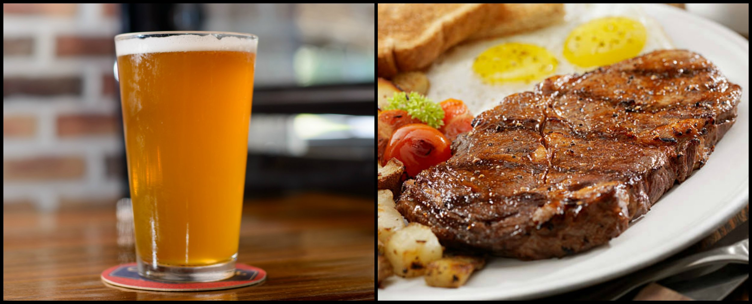 Join us this Sunday for a Steak & Eggs brunch, and Dad's first beer is on the house!
