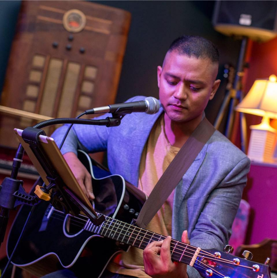 ABOUT THE ARTIST: Dino is a local songwriter & musician specializing in a style that walks an inviting line between classic rock, jazz, and soul. He can often be found serenading guests at venues all over 30A for any occasion from weddings to parties and other events.