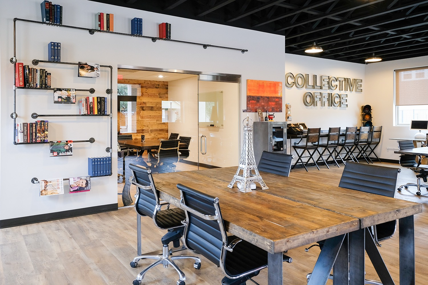 Common Space Daily Rate$25 / Day - Enjoy our common areas weekdays from 8:30am to 5:00pm. Rate includes any open table, desk or lounge. Super fast fiber WiFi, Coffee and filtered water are always included.