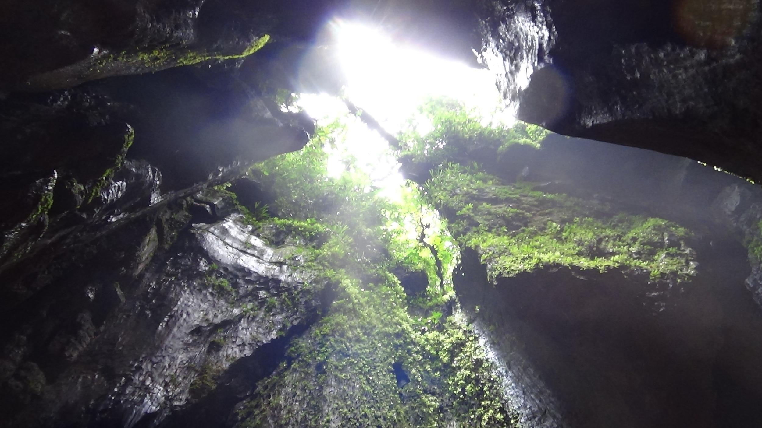 Cave in Ecuador