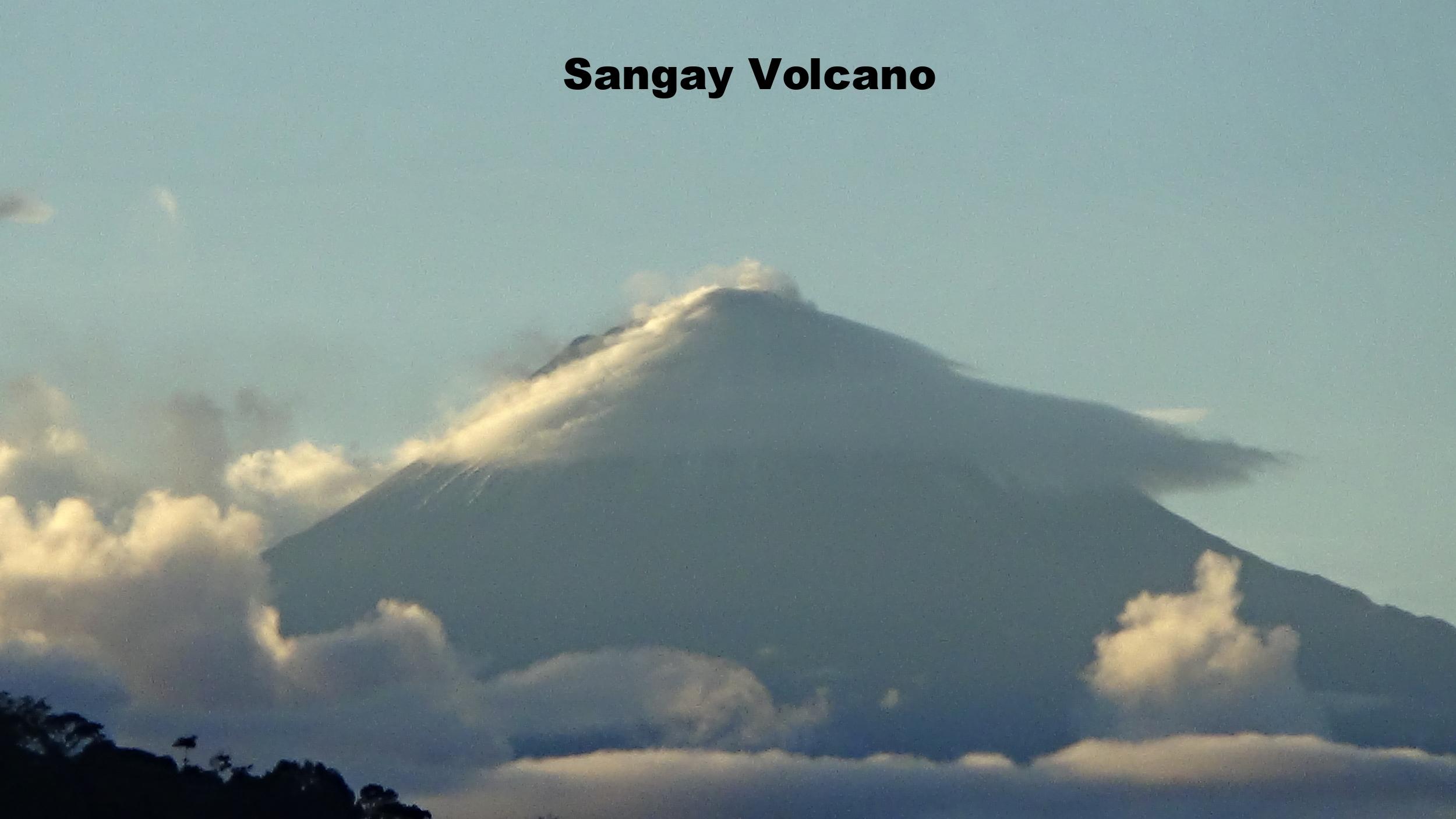 Active Sungay Volcano