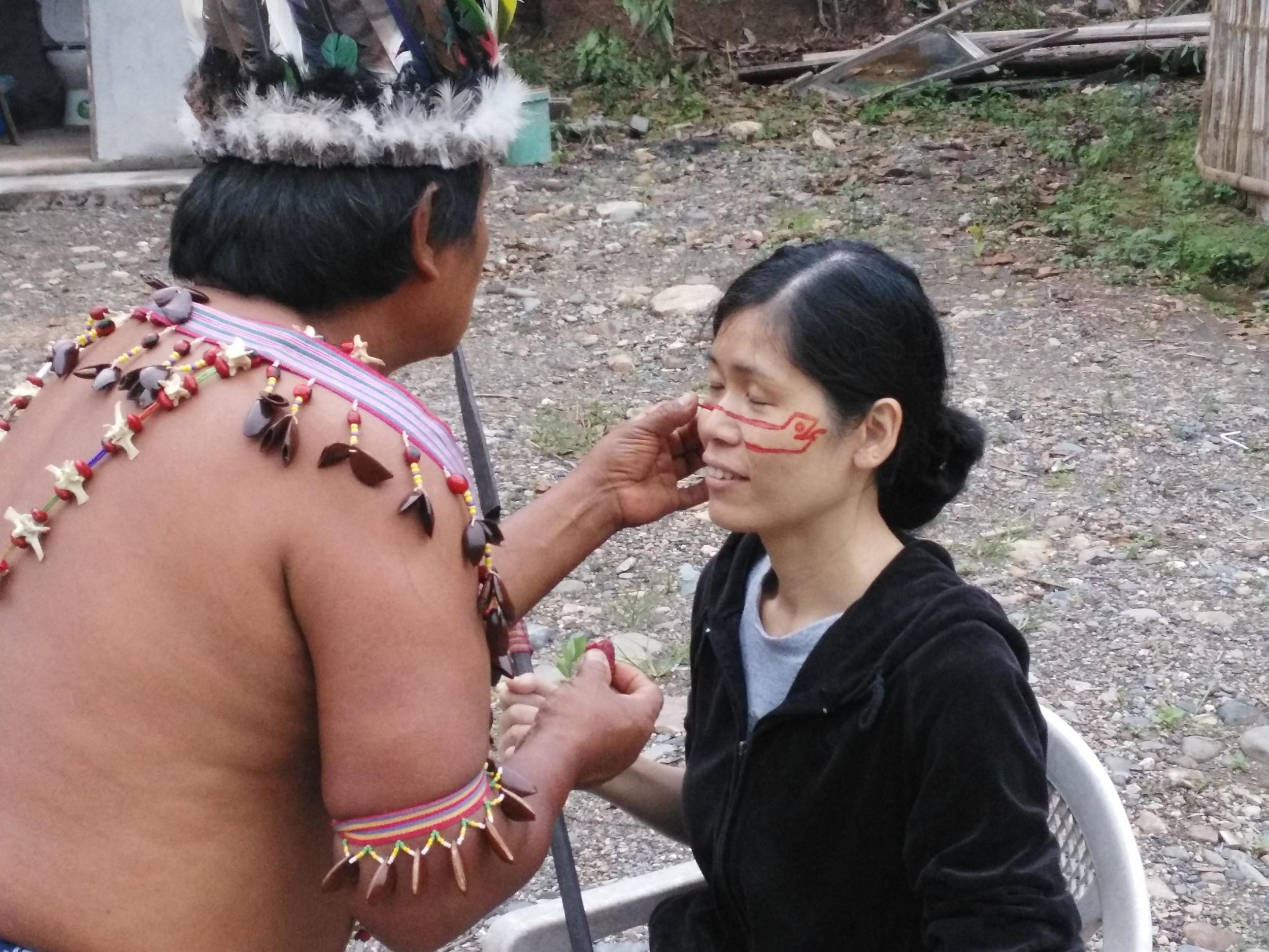 Ayahuasca ceremonial preparation