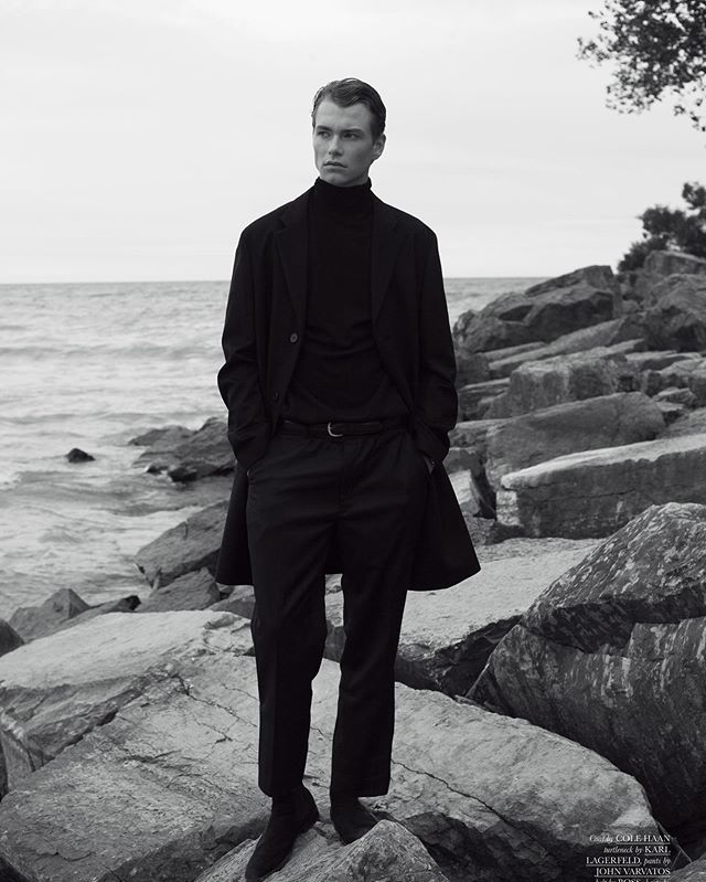 @magnusjwhambleton @elitetoronto shot by @patricklacsina for @clientmagazine grooming by me.