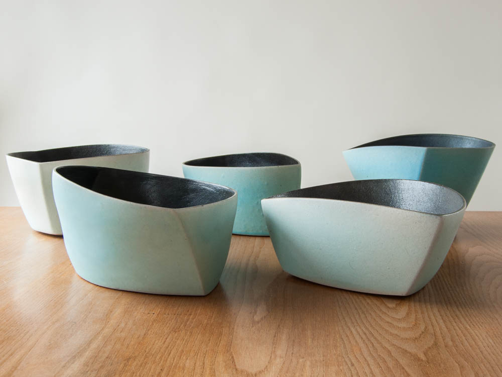Thrown & Altered Stoneware