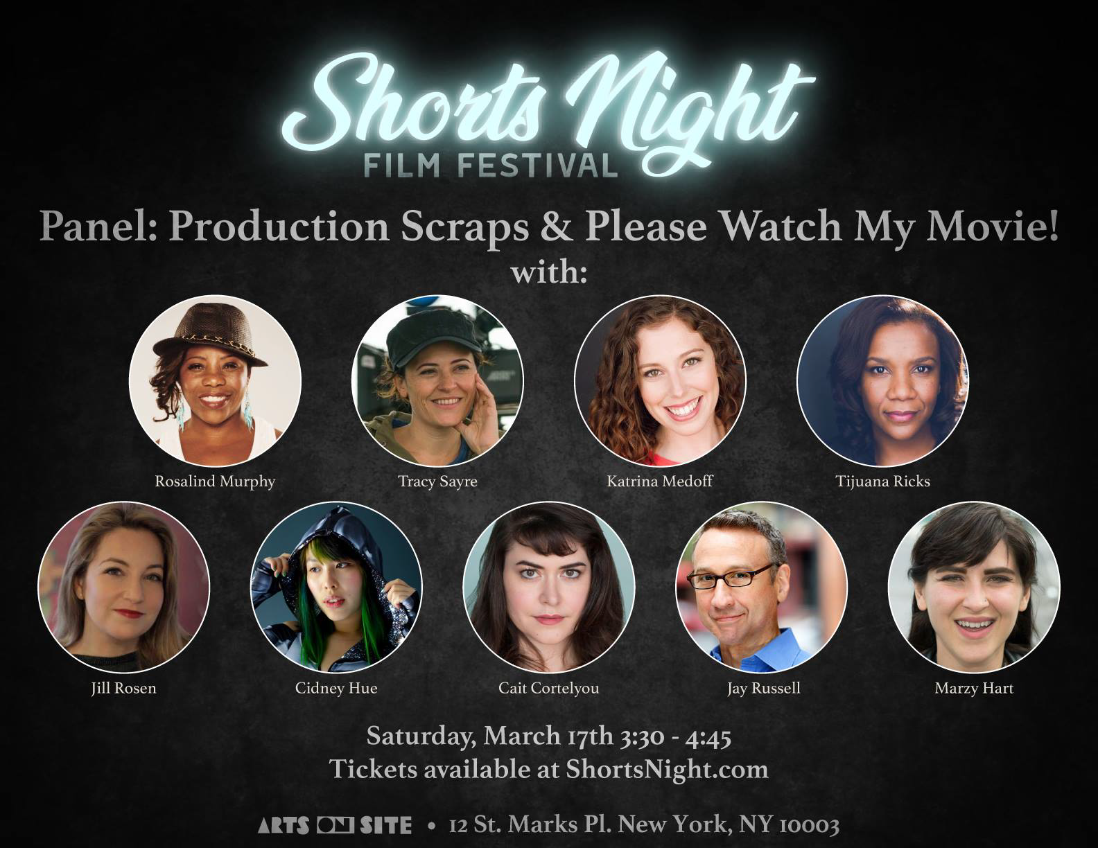 Shorts Night Film Fest_Panelists