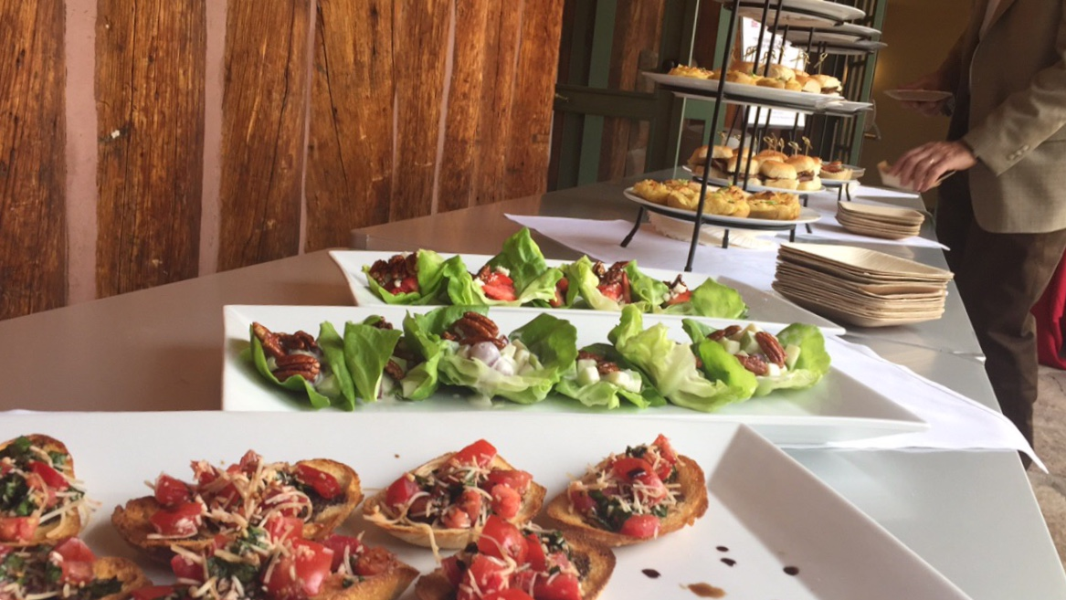 Catering - From evening dinner parties to large corporate meetings, our versatile menu will compliment any get together you are planning.