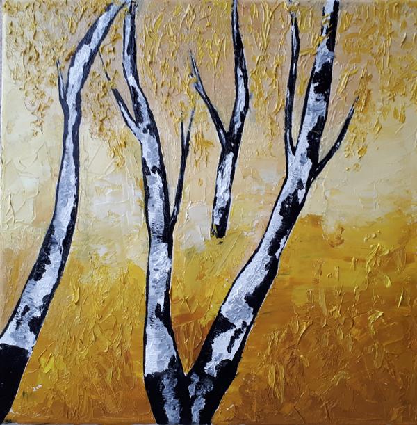 Peisazh 1 (2018) Oil on canvas 50 €