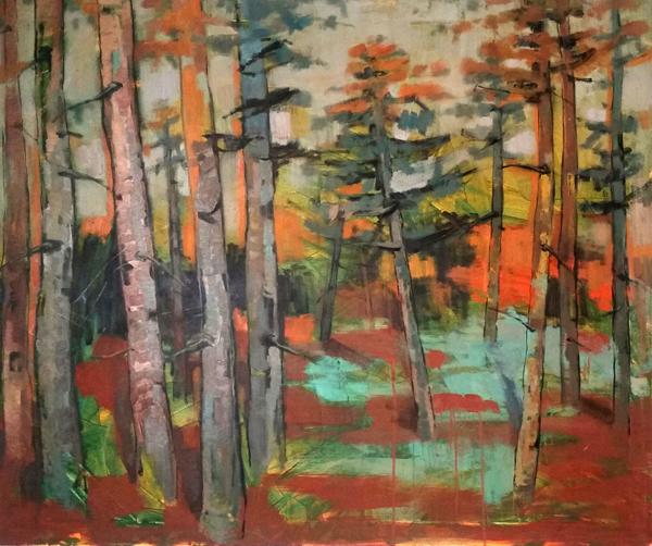 Venustas  (2018) Oil on canvas 250 €