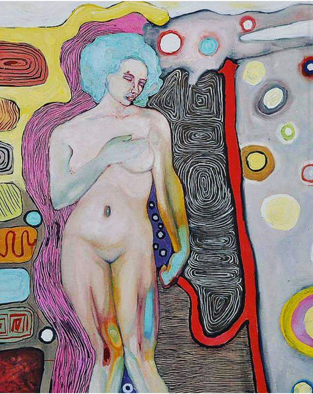The Human Body in Our Space (2017) Oil on Canvas 260 €
