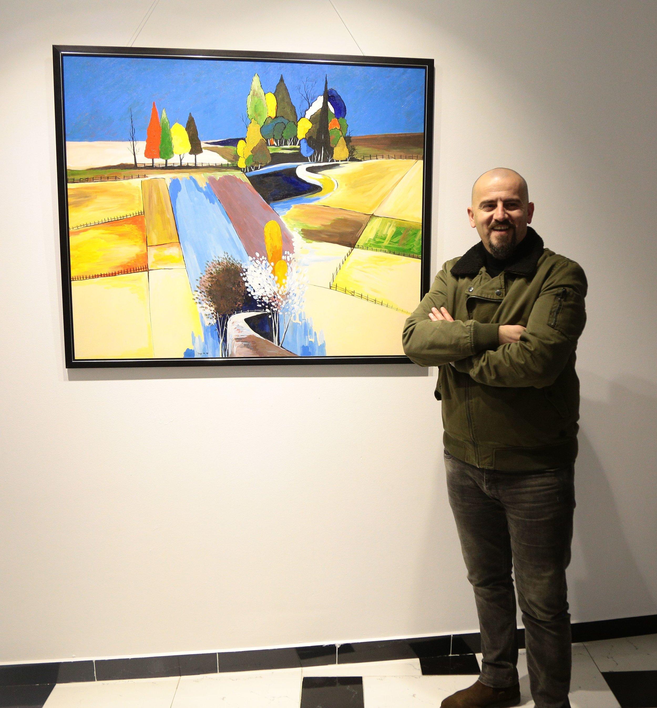 Landscape, 2018 Acrylic On Canvas 500€