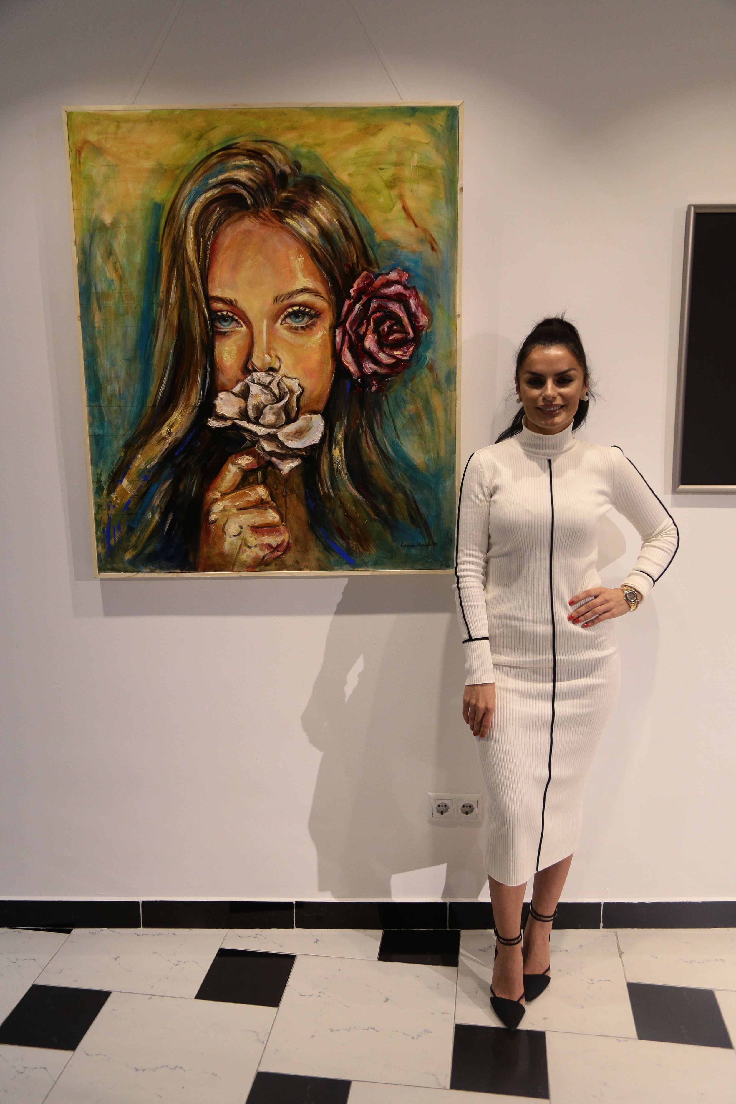 Feeling Blue  Vitia Oil on canvas 650€