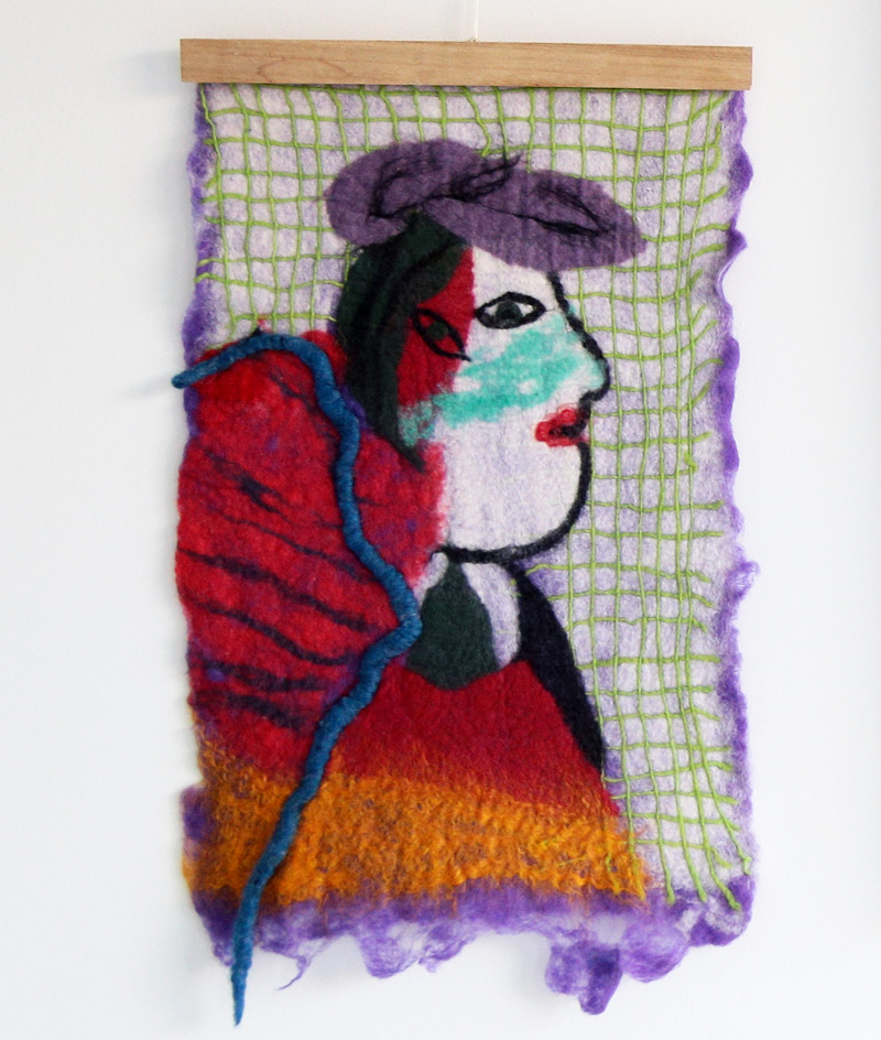 Picasso, 2018 Wool SOLD
