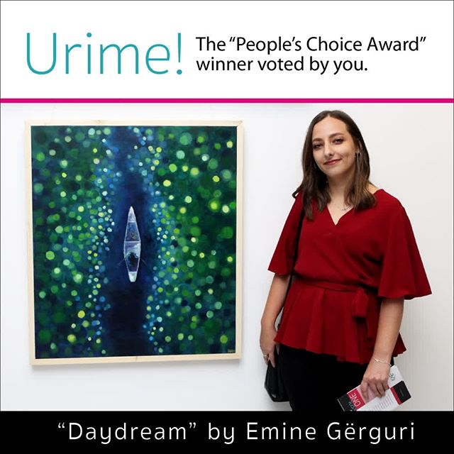 "Congratulations to Emine Gërguri's ""Daydream""!"