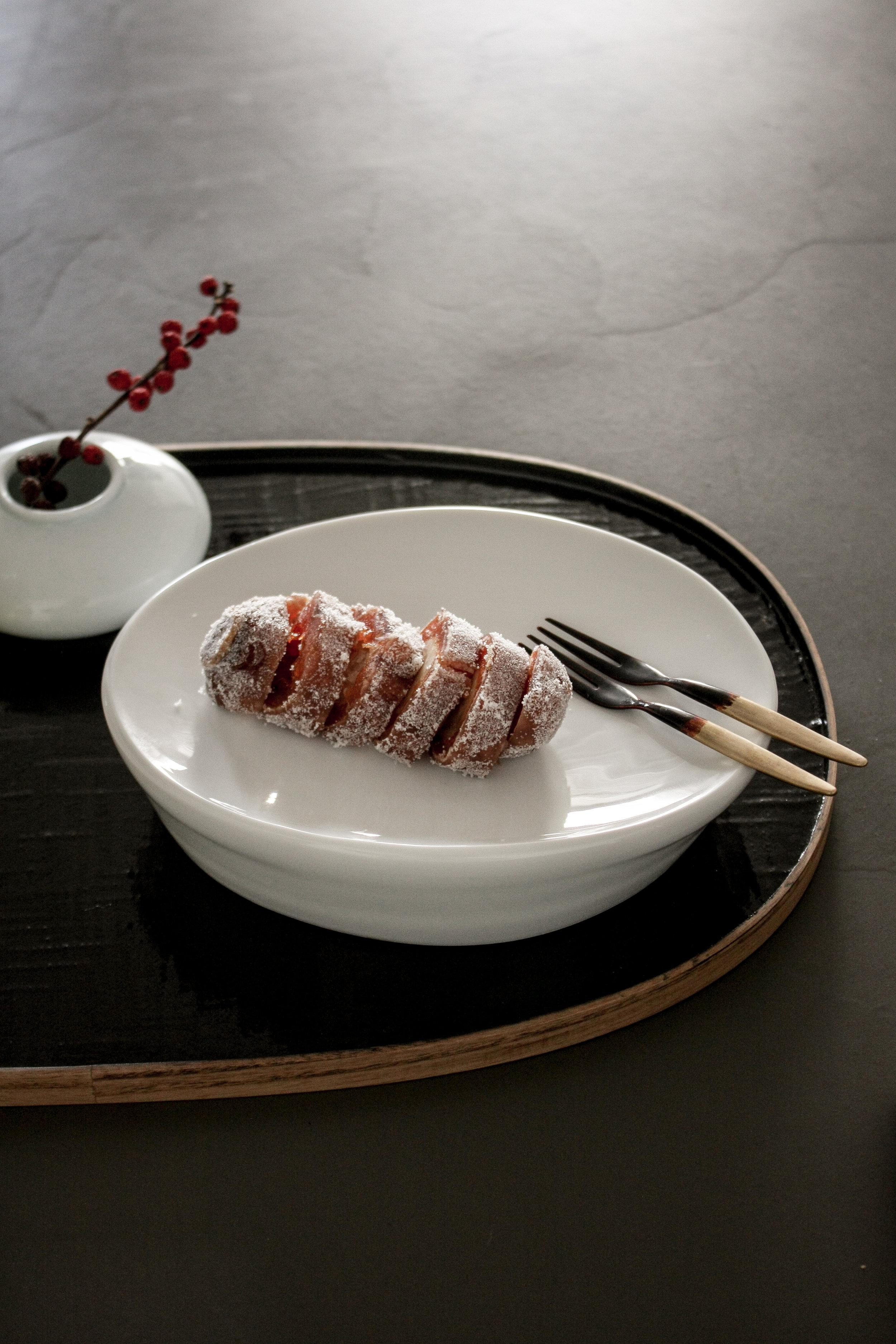 dessert plate_Rho02's Tableware /lacquered tray & folk_choeunsook gallery
