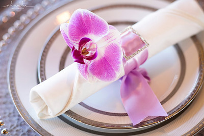 Seattle Wedding with Waterways Cruises | Seattle Wedding Coordination by New Creations Wedding Design | Purple and Silver Wedding Details | Alante Photography