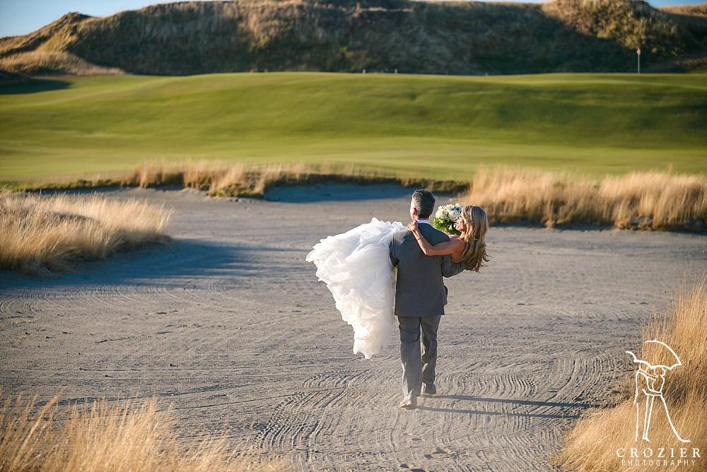 Chambers Bay Golf Club Wedding | Crozier Photography