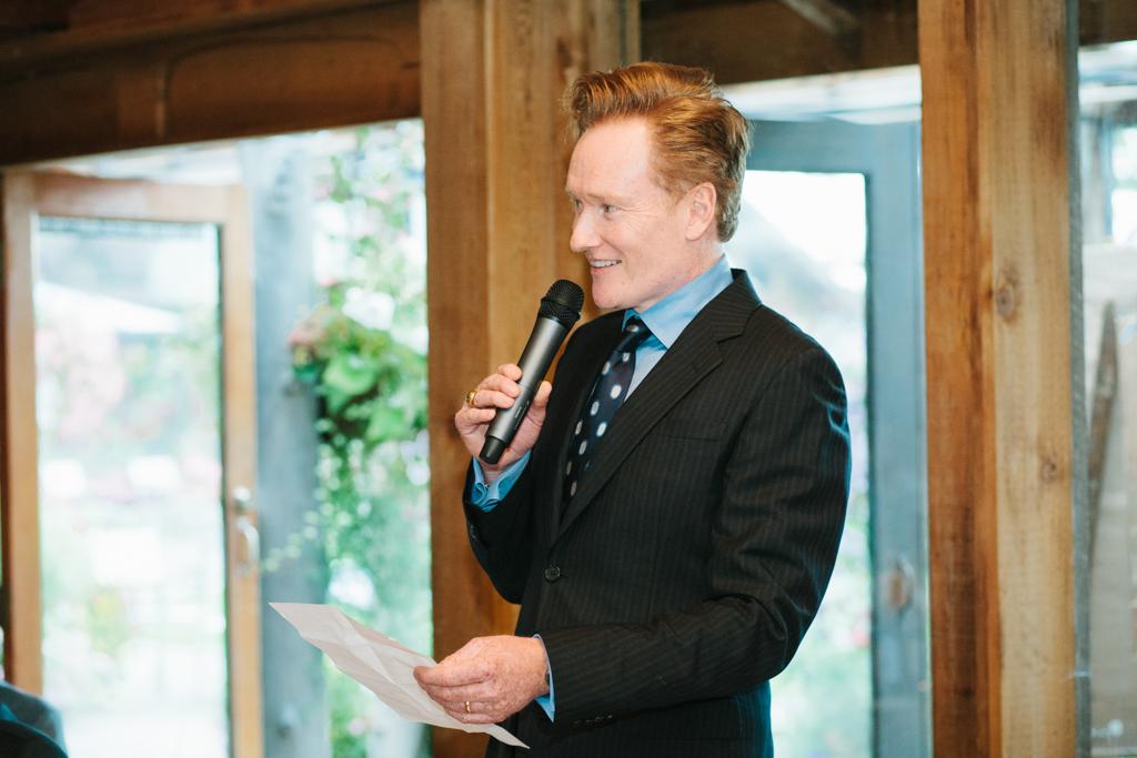 Conan O'Brien | Kiana Lodge Wedding | New Creations Wedding Design and Coordination | Seattle Wedding Planning