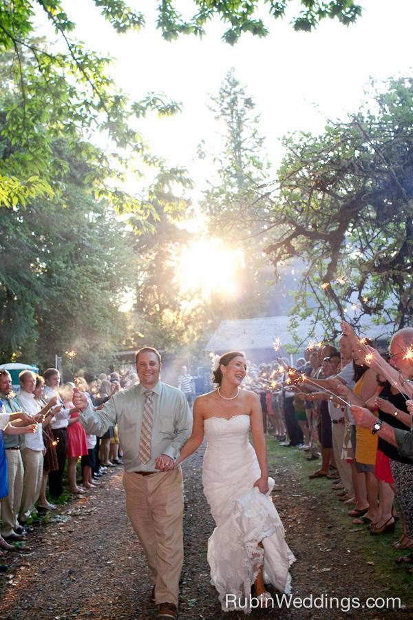 Fox Island Wedding
