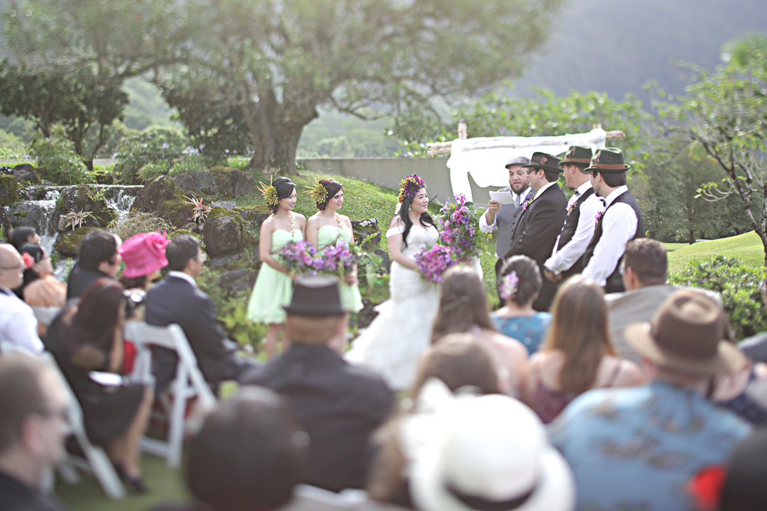 Koolau Ballrooms Oahu Wedding