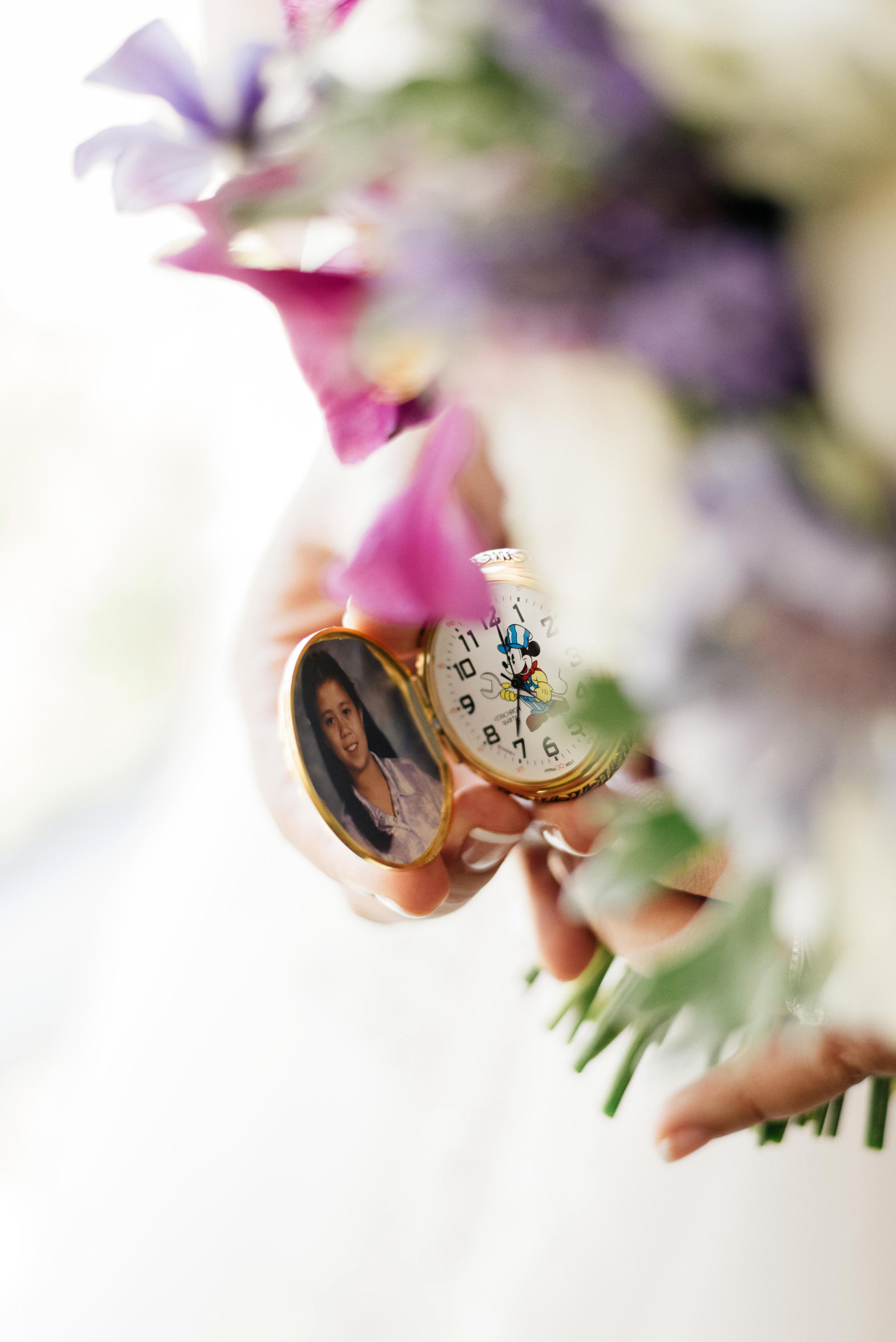 Wedding Bouquet Locket | Joe and Patience Photography | Filipino Wedding Planner | Seattle Wedding Planner | Ballard Bay Club Wedding