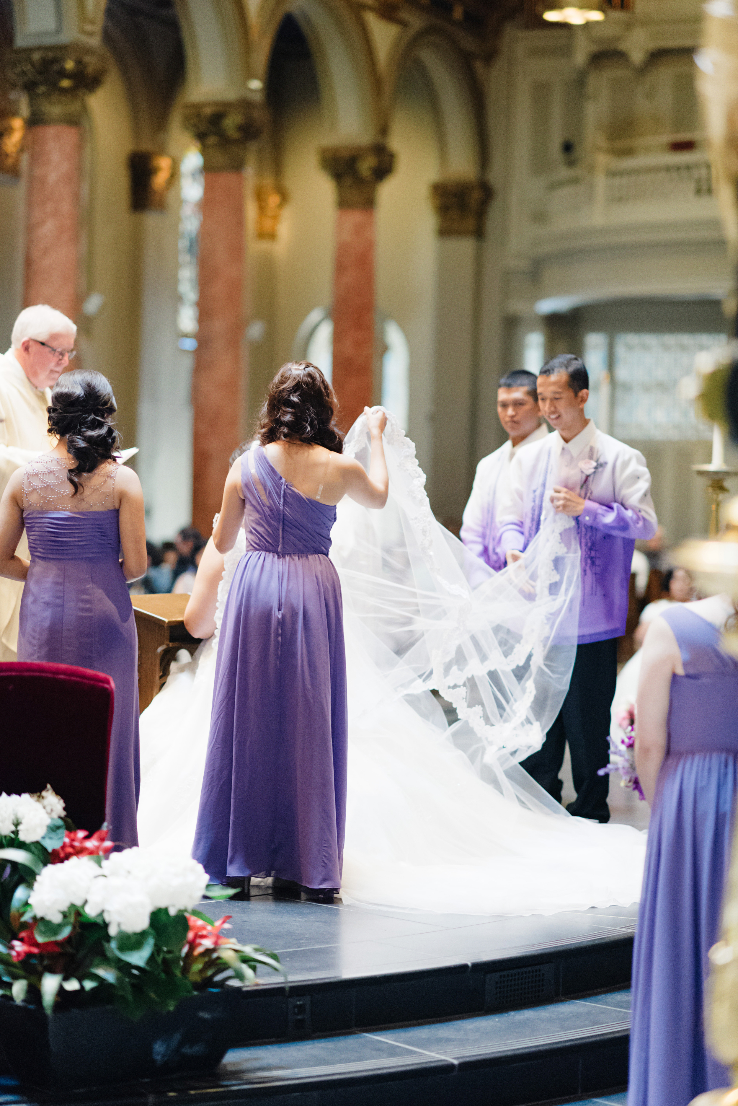 St James Cathedral Wedding | Joe and Patience Photography | Filipino Wedding Planner | Seattle Wedding Planner | Ballard Bay Club Wedding