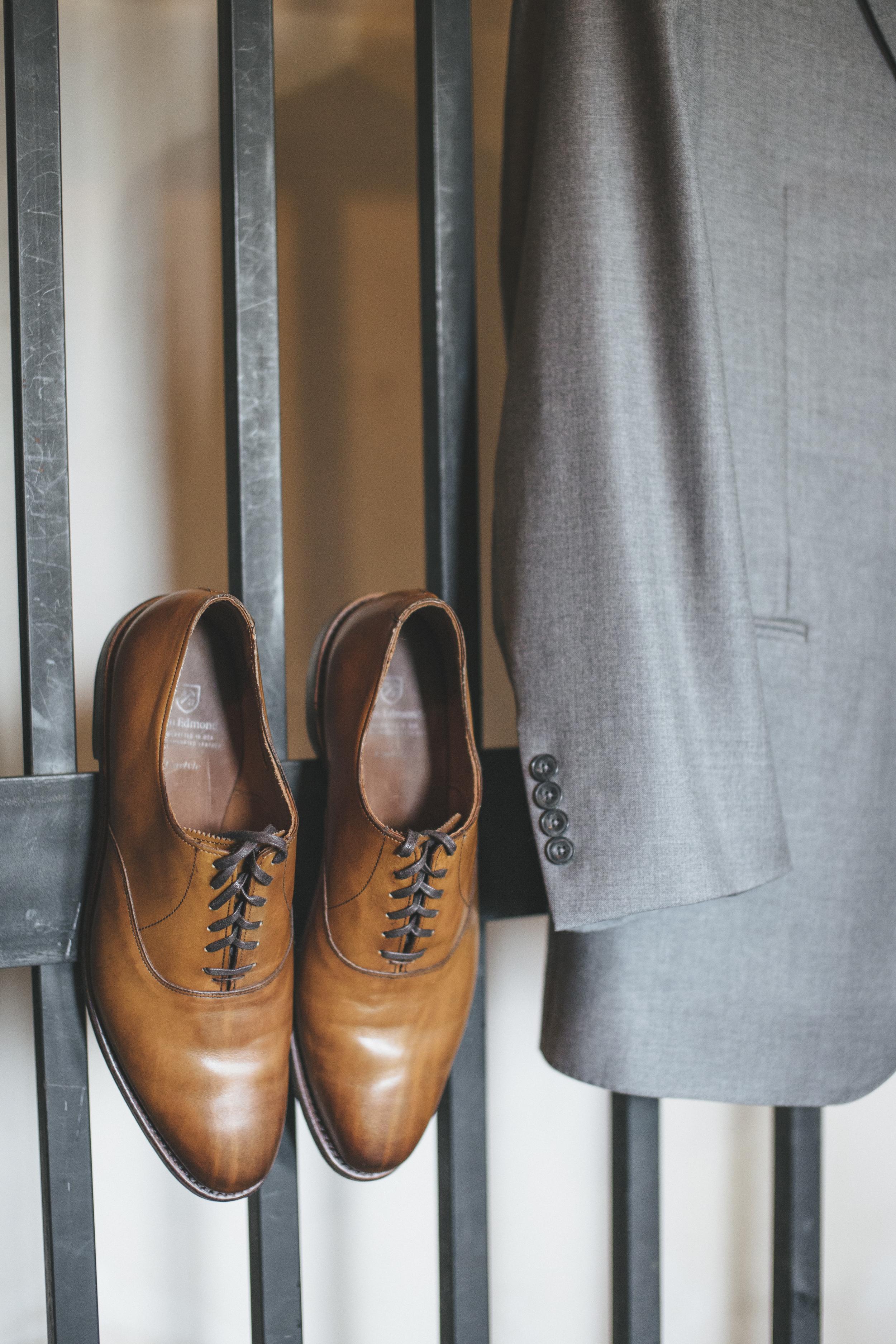 Grooms Wedding Shoes | Nice Men's Brown Shoes