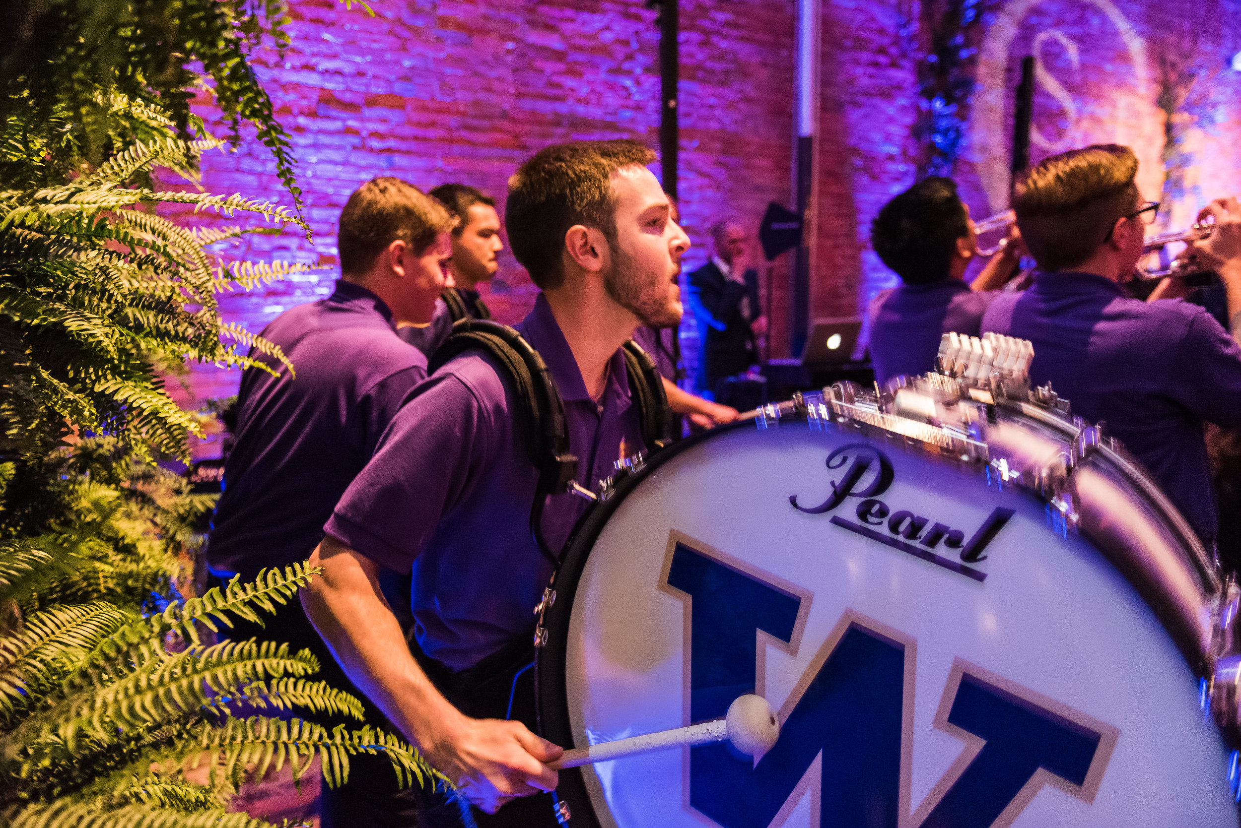 UW Band at Axis Pioneer Square Wedding.jpg