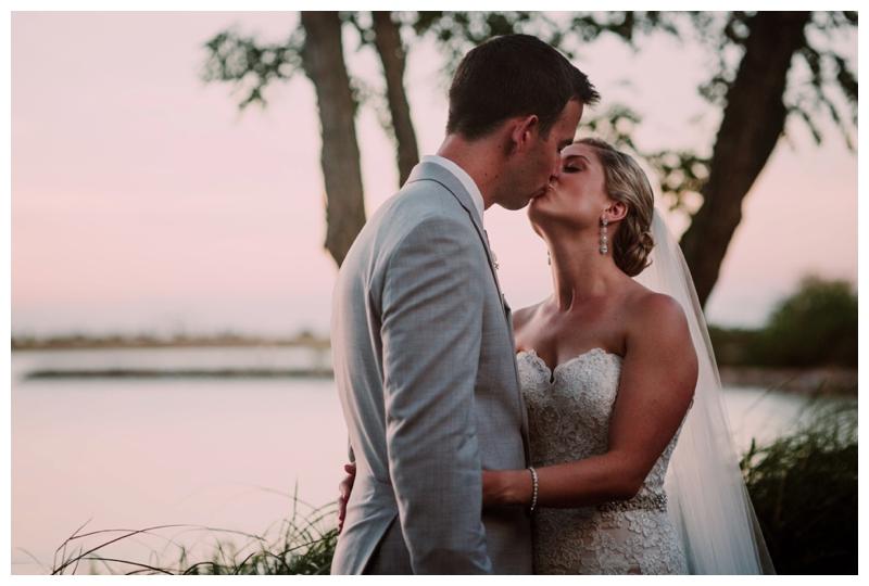Christy & Mark | Chesapeake Bay Beach Club Ballroom Wedding, Stevensville MD