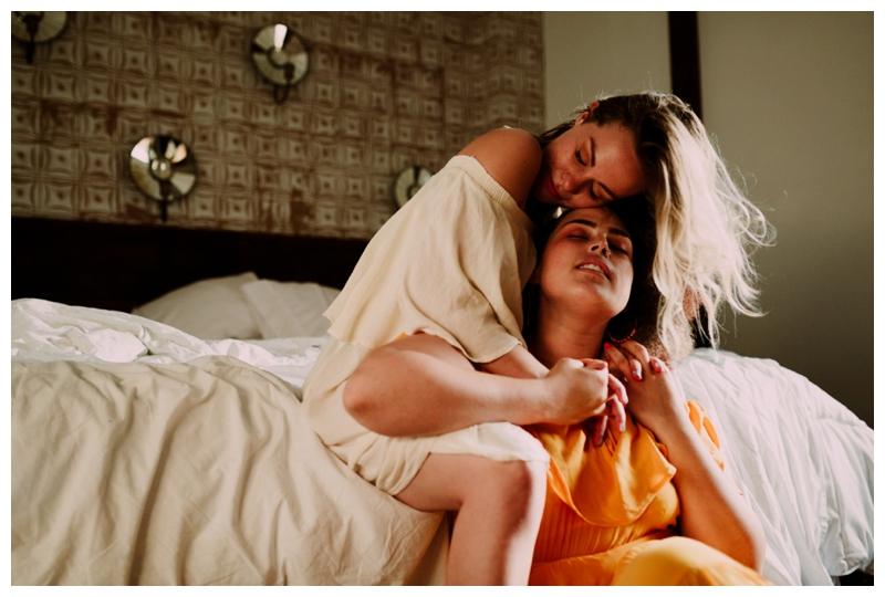 Rhetta & Hannah   Intimate Brooklyn NY Couple's Session