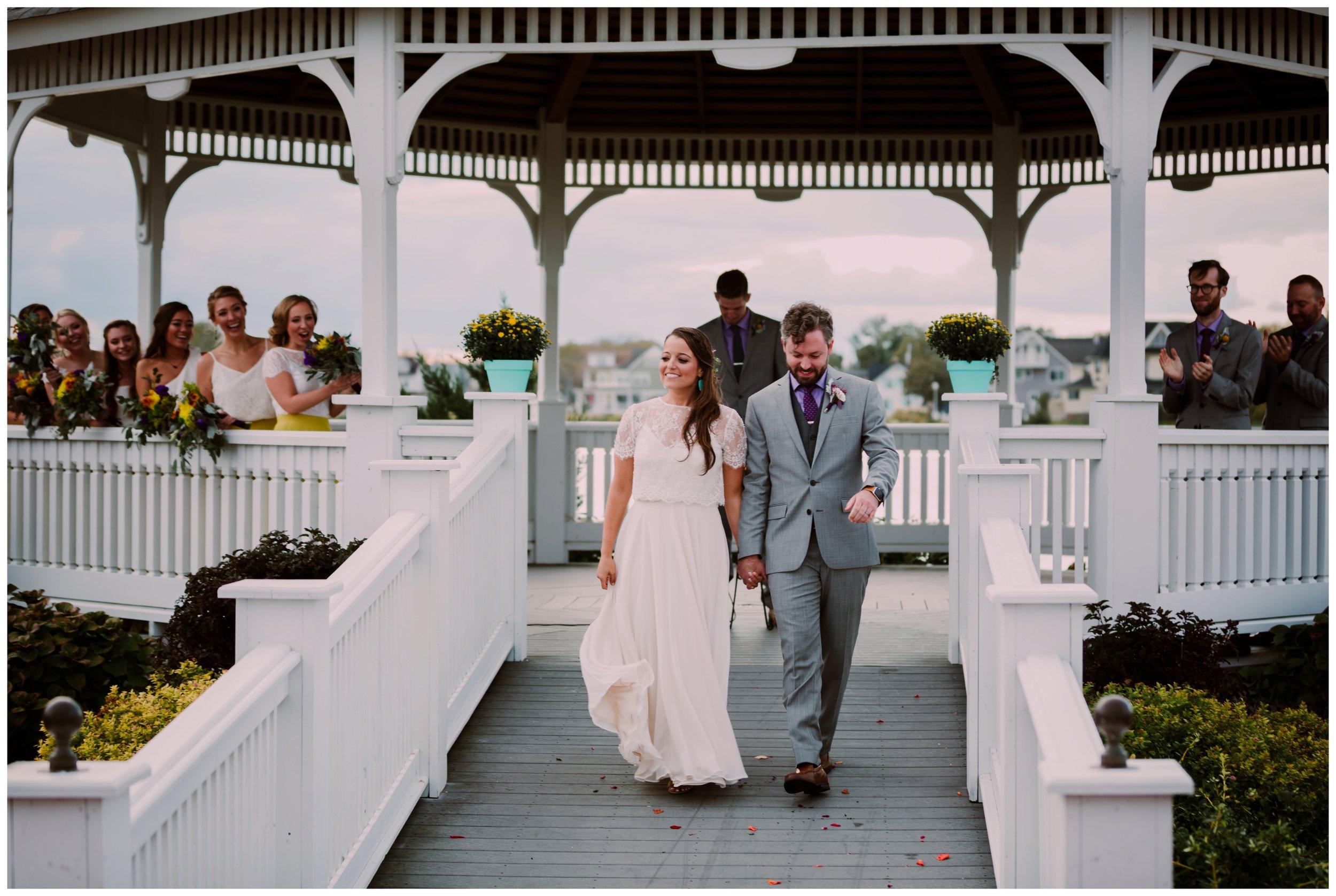 Nicole & Joe | Trendy Bohemian Belmar NJ Beach WeddingNicole & Joe | Trendy Bohemian Belmar NJ Beach Wedding